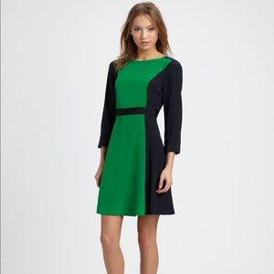 Marc by Marc Jacobs Silk Colorblock Dress